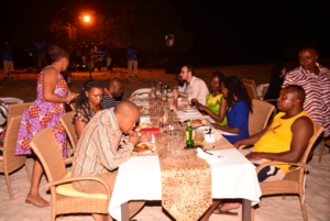 Galla Dinner on the beach