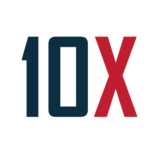 We give 10X in everything we do